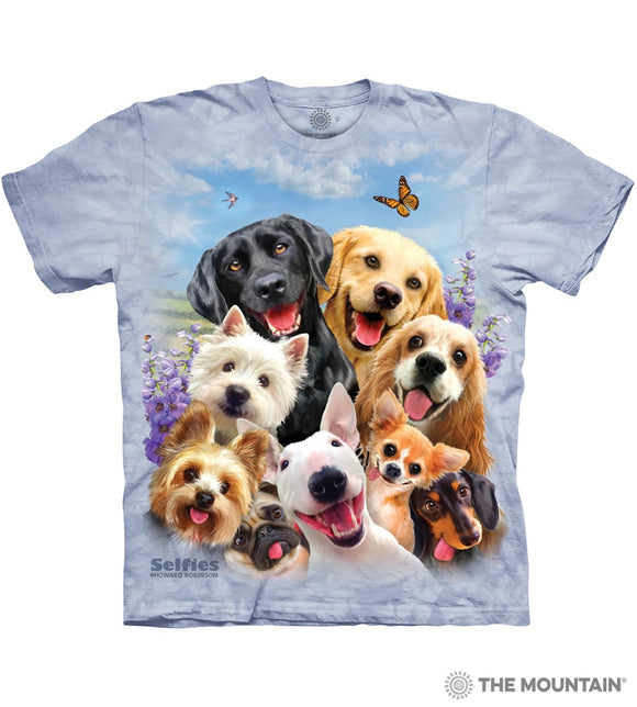 Dog Selfie Animal T-Shirt