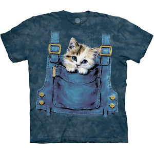 The Mountain Kitty Overalls - T-Shirt