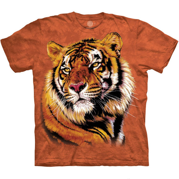 Mustard Tiger Shirt - Power & Grace - The Mountain