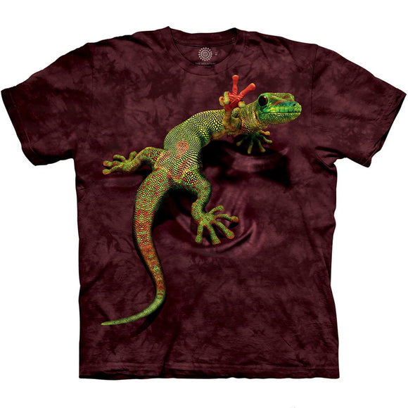 The Mountain Peace Out Gecko - T-Shirt