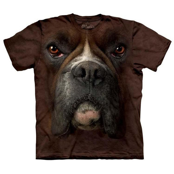 The Mountain Boxer Face - T-Shirt