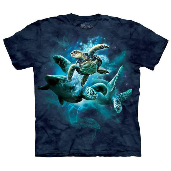 Sea Turtle Collage Shirt - The Mountain