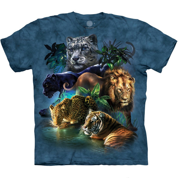 The Mountain Big Cats Jungle - T-Shirt