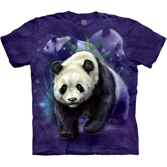 Panda Collage - Adult Unisex T-Shirt