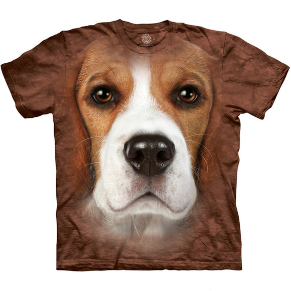 The Mountain Beagle Face - T-Shirt