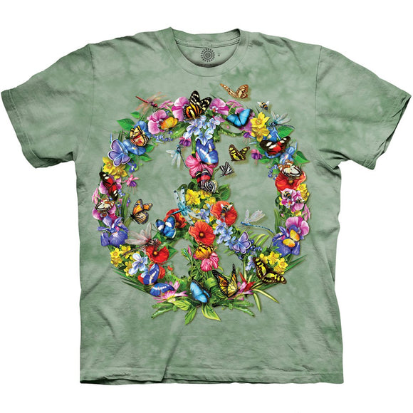 The Mountain Butterfly Dragon Peace - T-Shirt
