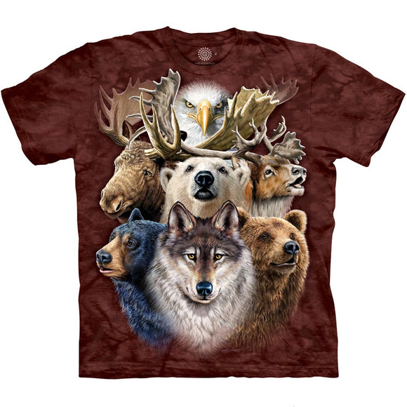 The Mountain North Wildlife - T-Shirt
