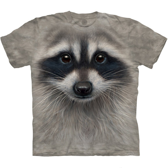 The Mountain Raccoon Face - T-Shirt