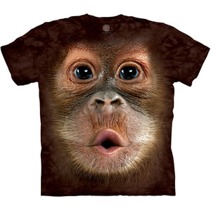 The Mountain Big Face Baby Orangutan - T-Shirt