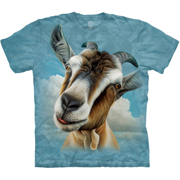 The Mountain Goat Head - T-Shirt
