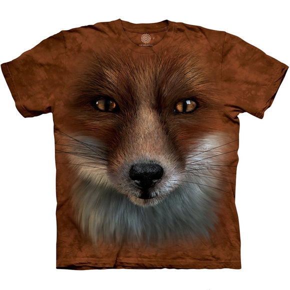 The Mountain Big Face Fox - T-Shirt
