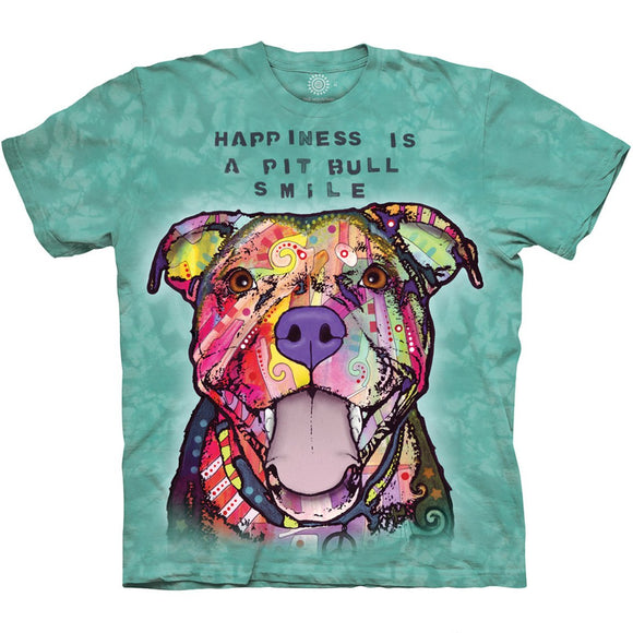 Pit Bull Smile - Adult Unisex T-Shirt