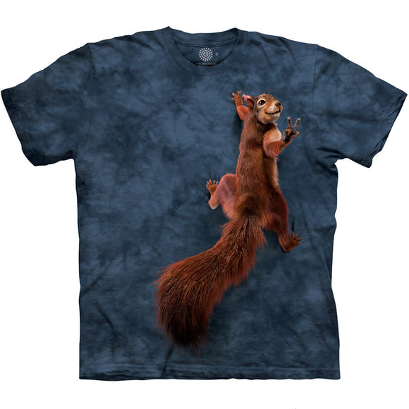 The Mountain Peace Squirrel - T-Shirt