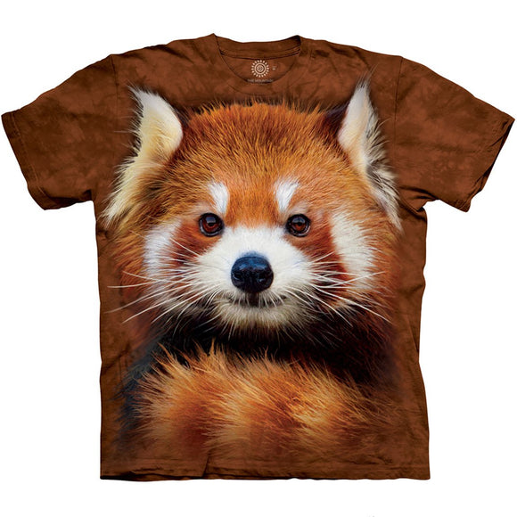 The Mountain Red Panda Portrait - T-Shirt