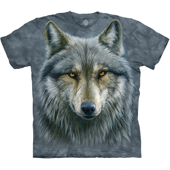 The Mountain Warrior Wolf - T-Shirt