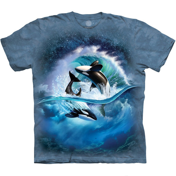 The Mountain Orca Wave - T-Shirt
