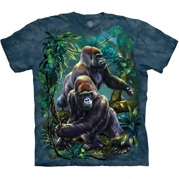 The Mountain Gorilla Jungle - T-Shirt