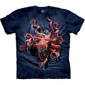 The Mountain Octopus Climb - T-Shirt