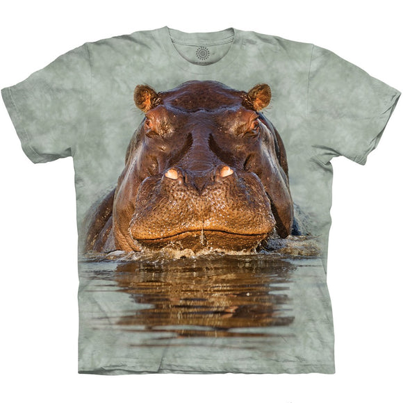 Hippo - Adult Unisex T-Shirt