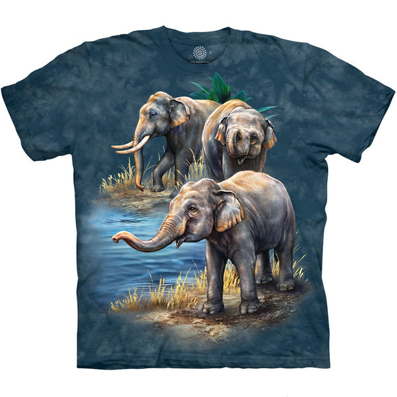 The Mountain Asian Elephants - T-Shirt