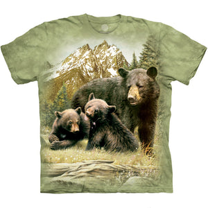 The Mountain Black Bear Family - T-Shirt