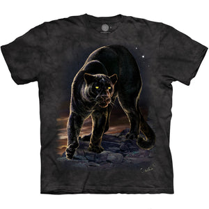 The Mountain Panther Portrait - T-Shirt