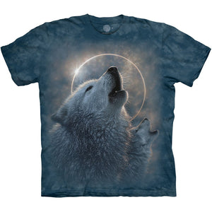 The Mountain Wolf Eclipse - T-Shirt