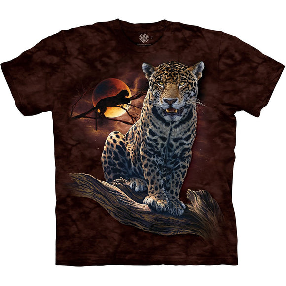 The Mountain Blood Moon Leopard - T-Shirt
