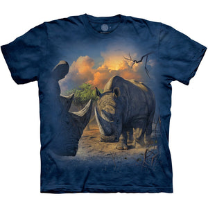 The Mountain Rhino Standoff - T-Shirt