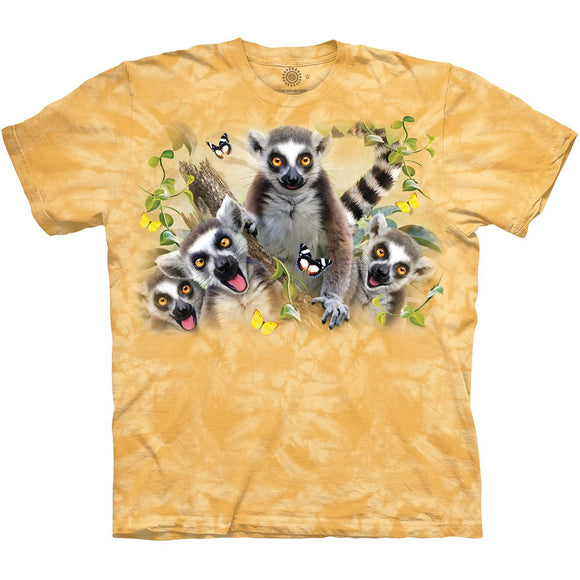The Mountain Lemur Selfie - T-Shirt