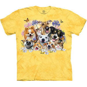 The Mountain 3D Dogs & Cats Shirt
