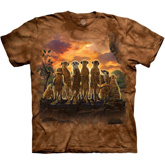The Mountain Meerkat Family - T-Shirt