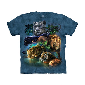 The Mountain Big Cats Jungle - Kids' Unisex T-Shirt