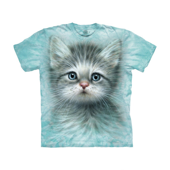 The Mountain Blue Eye Kitten - Kids' Unisex T-Shirt