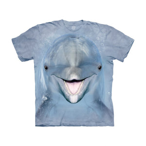 The Mountain Dolphin Face - Kids' Unisex T-Shirt