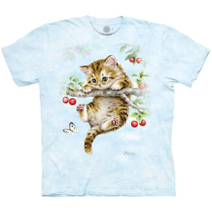 The Mountain Cherry Kitten - Kids' Unisex T-Shirt