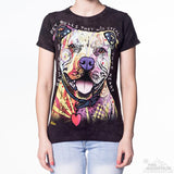 Beware Of Pit Bulls - Women's Fitted T-Shirt