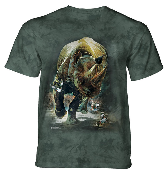 The Mountain - Rhino Rampage - Adult Unisex T-Shirt