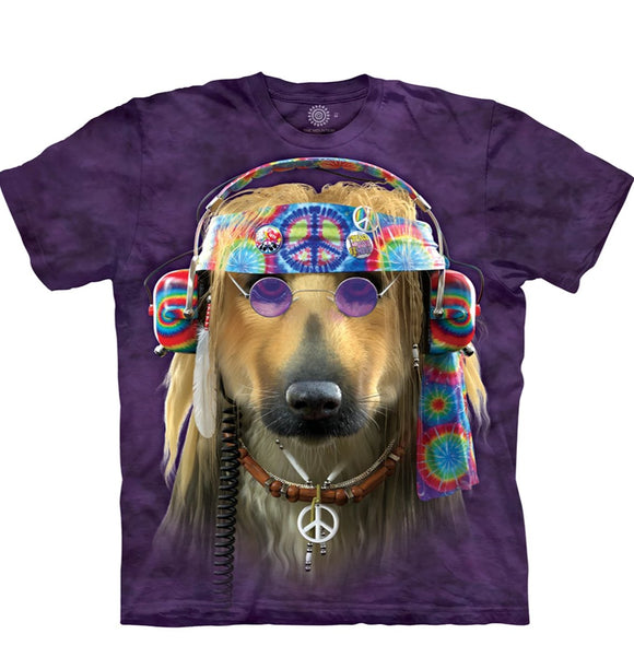 Groovy Dog - Adult Unisex T-Shirt