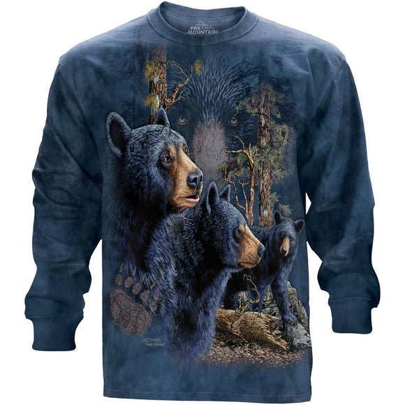 The Mountain Find 13 Bears - Long Sleeved T-Shirt