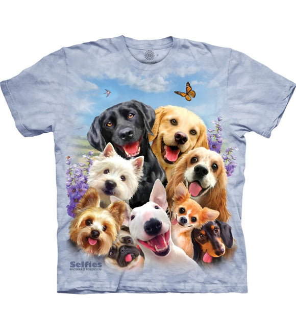 Dogs Selfie - Kids' Unisex T-Shirt
