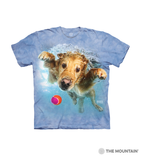 Kids 3D Dog Shirt - The Mountain - Underwater Frisco