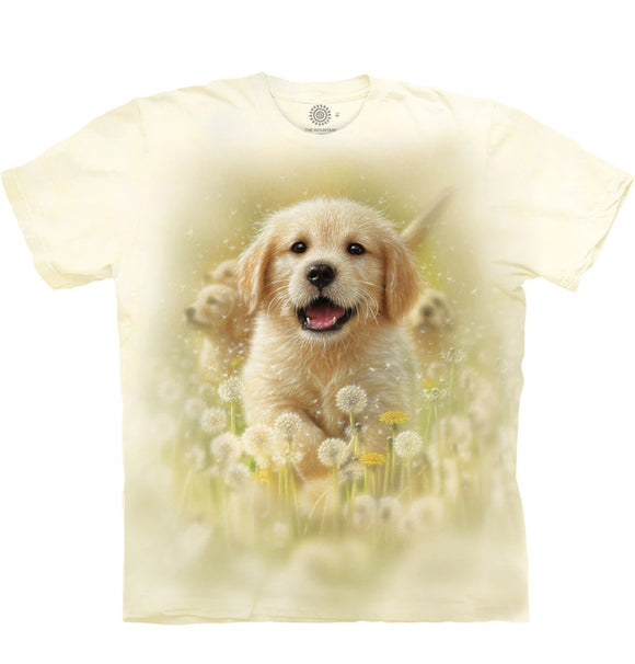Golden Puppy - Kids' Unisex T-Shirt