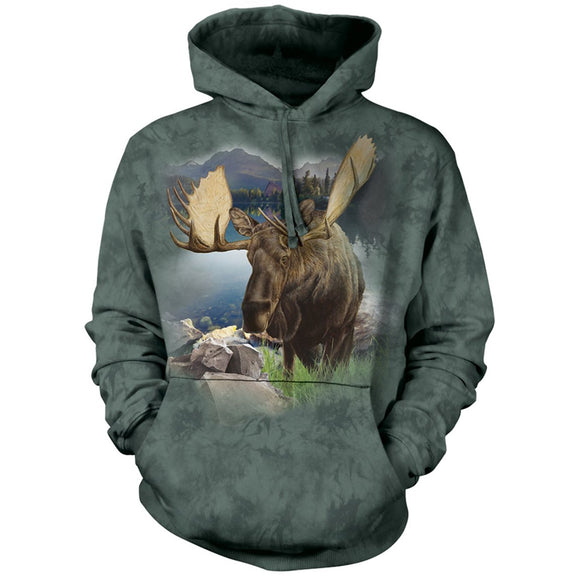 Monarch Of The Forest - Adult Unisex Hoodie Sweatshirt