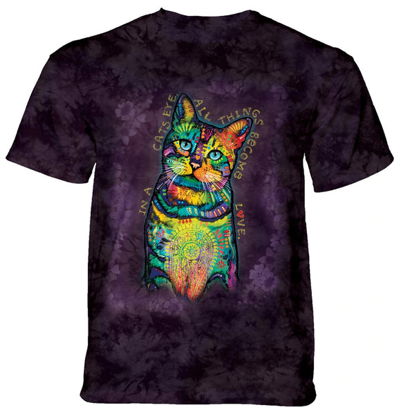 The Mountain - Cats Eyes - Adult Unisex T-Shirt