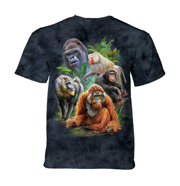 The Mountain - Primates Collage - Kids' Unisex T-Shirt