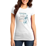 Little Lab Bro - Women's Fitted T-Shirt