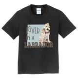 Loved by a Labrador - Kids' Unisex T-Shirt