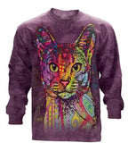 Abyssinian - The Mountain - Long Sleeve 3D Animal T-Shirt