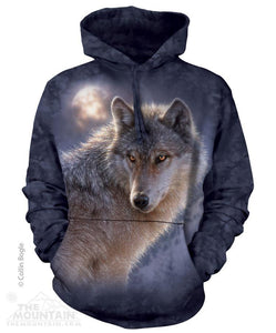 Adventure Wolf - Adult Unisex Hoodie Sweatshirt